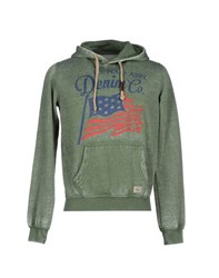 U.S. Polo Assn. U.S.Polo Assn. Topwear Sweatshirts Men Military Green