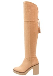Evenandodd Laceup Boots Sand