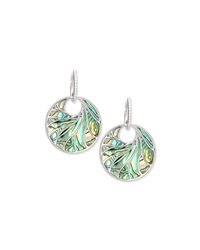 Venus Abalone And Diamond Earrings Frederic Sage