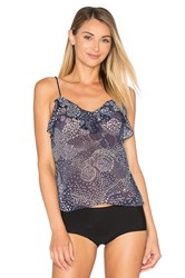Only Hearts Club New Romantic Petal Cami Navy