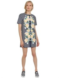Mother Of Pearl Floral Printed Heavy Cotton Poplin Dress