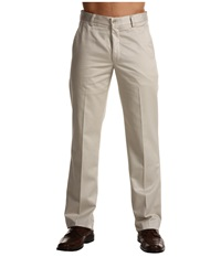 Dockers Signature Khaki D1 Slim Fit Flat Front Cloud Men's Dress Pants White