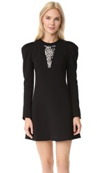 Giambattista Valli Long Sleeve Dress Black
