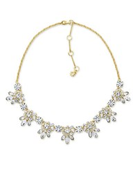 Marchesa Crystal Necklace Gold