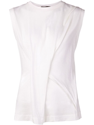 Calvin Klein Collection Folded T Shirt White