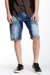 Antony Morato Distressed Denim Short Blue