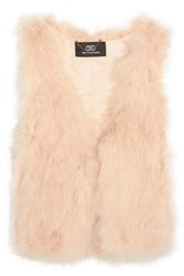 Tart Collections Dalia Feather Gilet Pink
