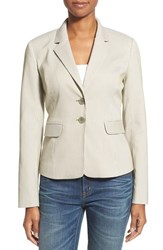 Women's Nordstrom Collection 'City Stripe' Notch Collar Jacket