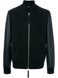 Blood Brother 'Alpha' Bomber Jacket Black