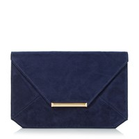 Head Over Heels Beronica Envelope Clutch Bag Navy