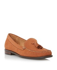 Episode Gino Tassle Loafers Tan