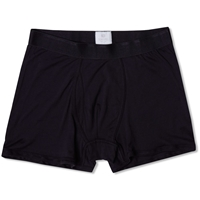 Sunspel Superfine Egyptian Cotton Low Waist Trunk Black
