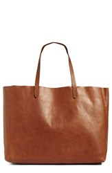 Madewell 'The Transport East West' Leather Tote