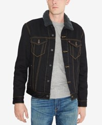 Levi's Trucker Jacket With Faux Sherpa Lining Duvall