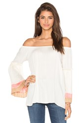 Vava By Joy Han Grace Off Shoulder Top Ivory