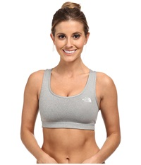 The North Face Bounce B Gone Bra Monument Grey Heather Monument Grey Heather Women's Bra Gray