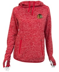 Antigua Women's Chicago Blackhawks Recruit Pullover Hoodie Red