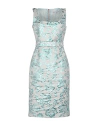 Frankie Morello Dresses Knee Length Dresses Women Sky Blue