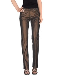 Gianfranco Ferre Gf Ferre' Denim Denim Trousers Women Bronze