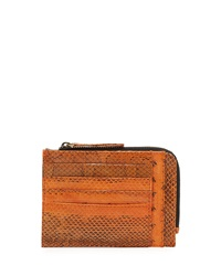 Beirn Watersnake Double Sided Card Case Orange