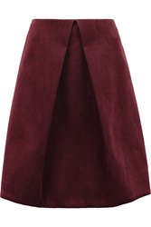 Pringle Velvet Skirt Red