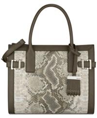 Nine West Clean Living Small Tote Natural Multi Sand Stone Deep Stone