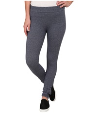 Alternative Apparel Eco Stretch Mock Twist Wild Coast Leggings Eco Mock Midnight Women's Casual Pants Gray