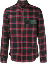 Givenchy Tartan Shirt Red