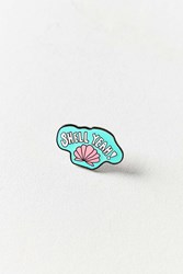 Annie Free X Uo Shell Yeah Pin Mint