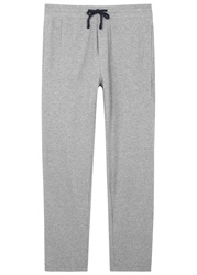 James Perse Classic Grey Jersey Jogging Trousers Light Grey