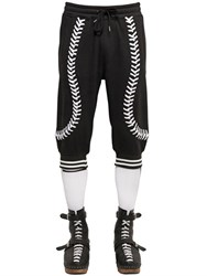 Ktz Baseball Seams Crop Cotton Jogging Pants