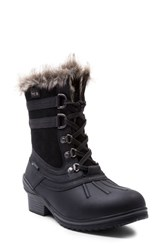Blondo Women's Melody Waterproof Boot With Faux Fur Trim