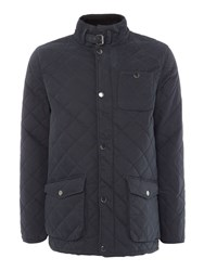 Howick Men's The Pembroke Cotton Quilted Jacket Carbon