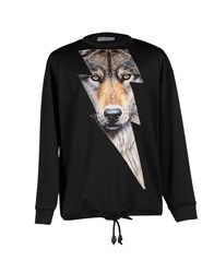 Leitmotiv Topwear Sweatshirts Men Black