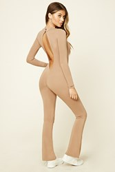 Forever 21 Flared Cutout Jumpsuit