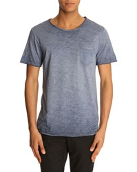 Menlook Label Simon Navy T Shirt