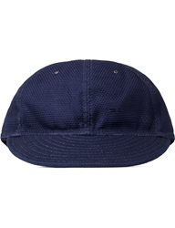 The Hillside Lightweight Indigo Sashiko 6 Panel Ball Cap
