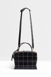 Victoria Beckham Small Picnic Leather Bag Black