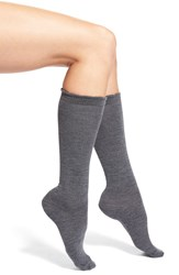 Nordstrom Merino Wool Blend Socks Heather Grey
