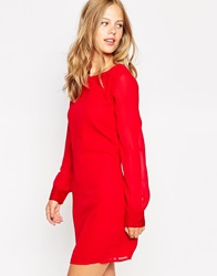 Vero Moda Long Sleeve Shift Dress Jesterred