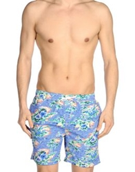 Scotch And Soda Swimming Trunks Blue