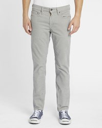 Levi's Grey 511 Corduroy Slim Fit Trousers