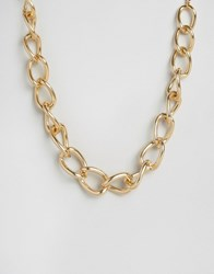 New Look Chunky Necklace Gold