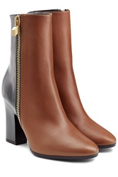 Pierre Hardy Two Tone Leather Boots Multicolor