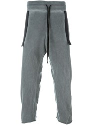 Lost And Found Rooms Cropped Track Pants Grey