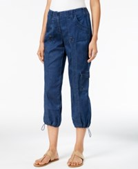 Styleandco. Style Co. Denim Cargo Pants Only At Macy's Medium Indigo
