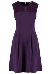 Anna Field Summer Dress Purple Dark Purple