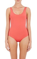 Onia Women's Kelly One Piece Swimsuit Coral Red Coral Red