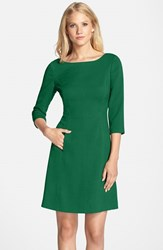 Women's Vince Camuto Crepe A Line Dress Green