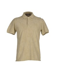 Gas Jeans Gas Topwear Polo Shirts Men Beige